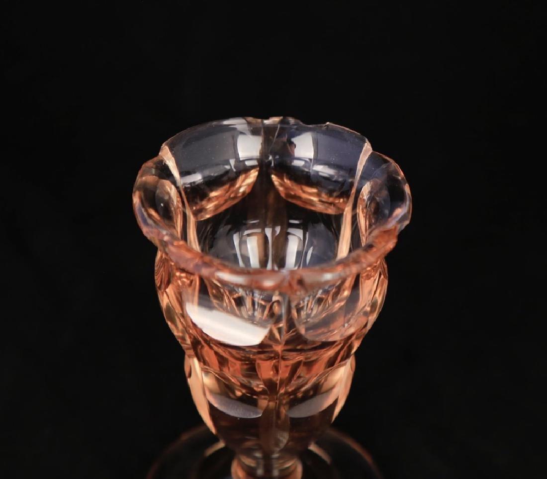 Moser Alexandrite Glass Cordial Set - 14