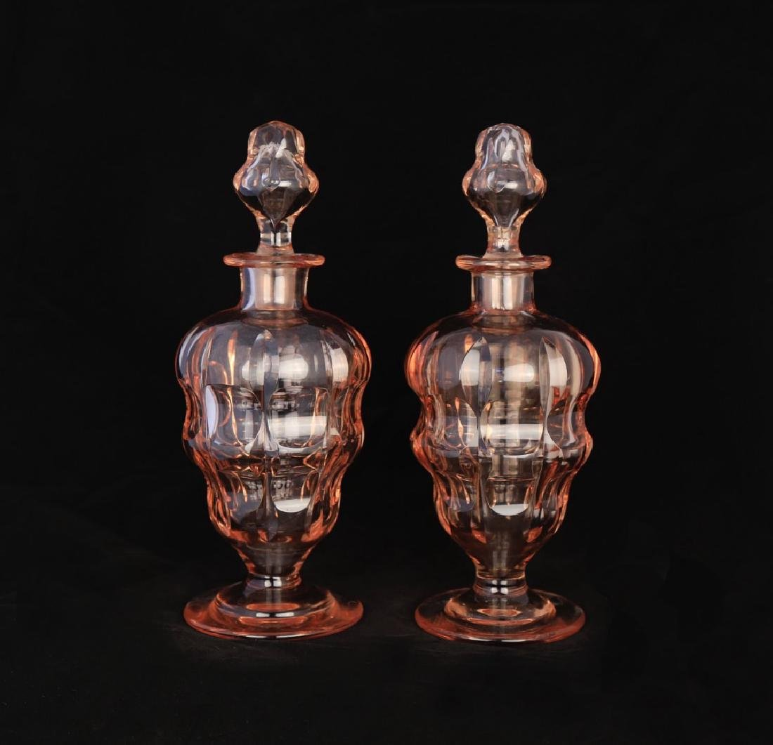 Moser Alexandrite Glass Cordial Set - 8