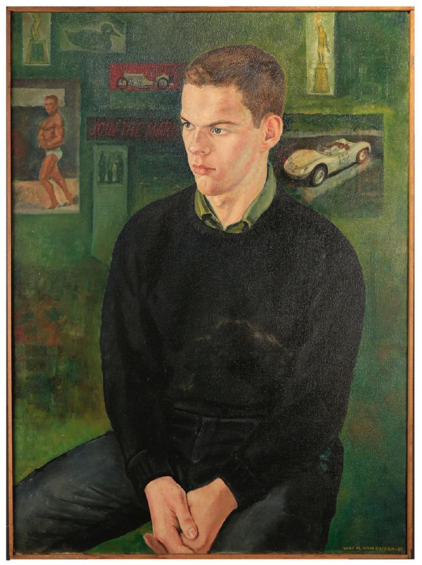 William A. Van Duzer (American 1917 - 2005)