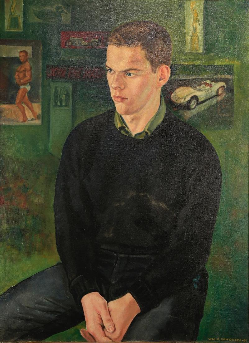 William A. Van Duzer (American 1917 - 2005) - 2