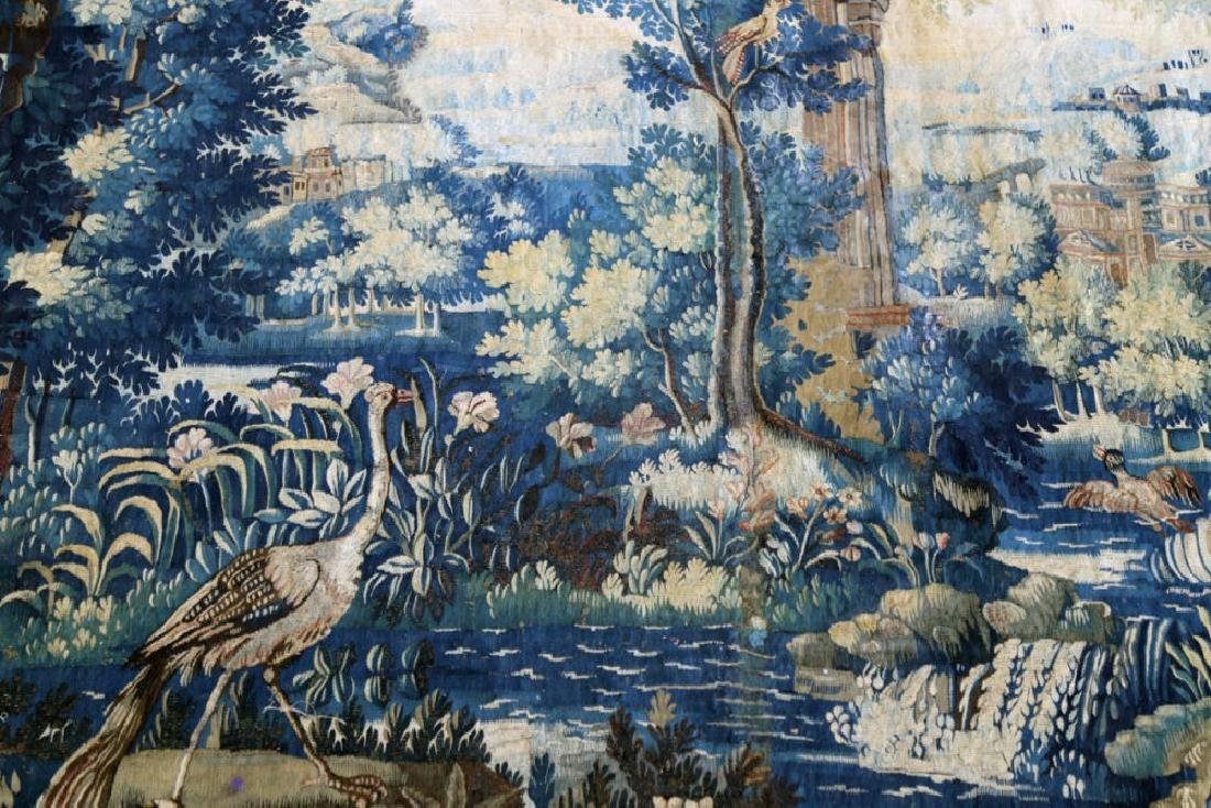 A Flemish Verdure Tapestry, 17thc. - 2