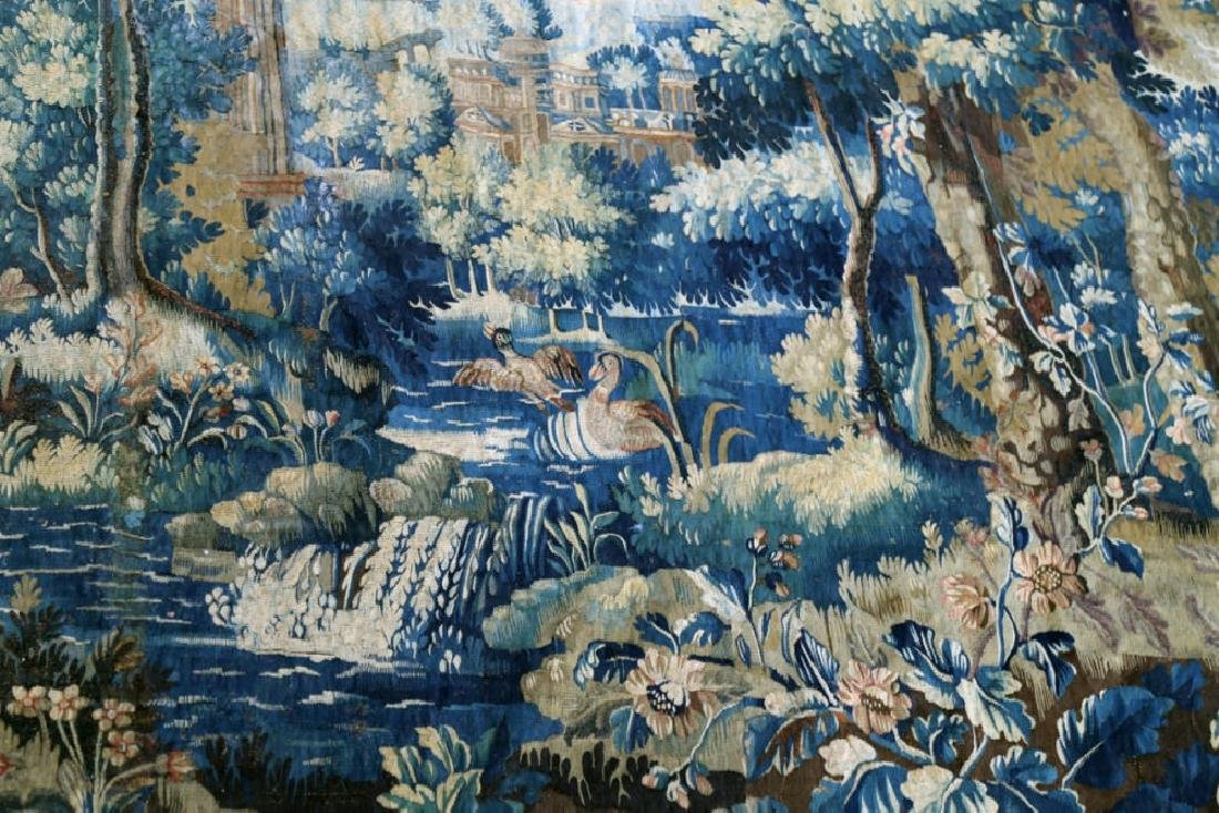 A Flemish Verdure Tapestry, 17thc. - 3