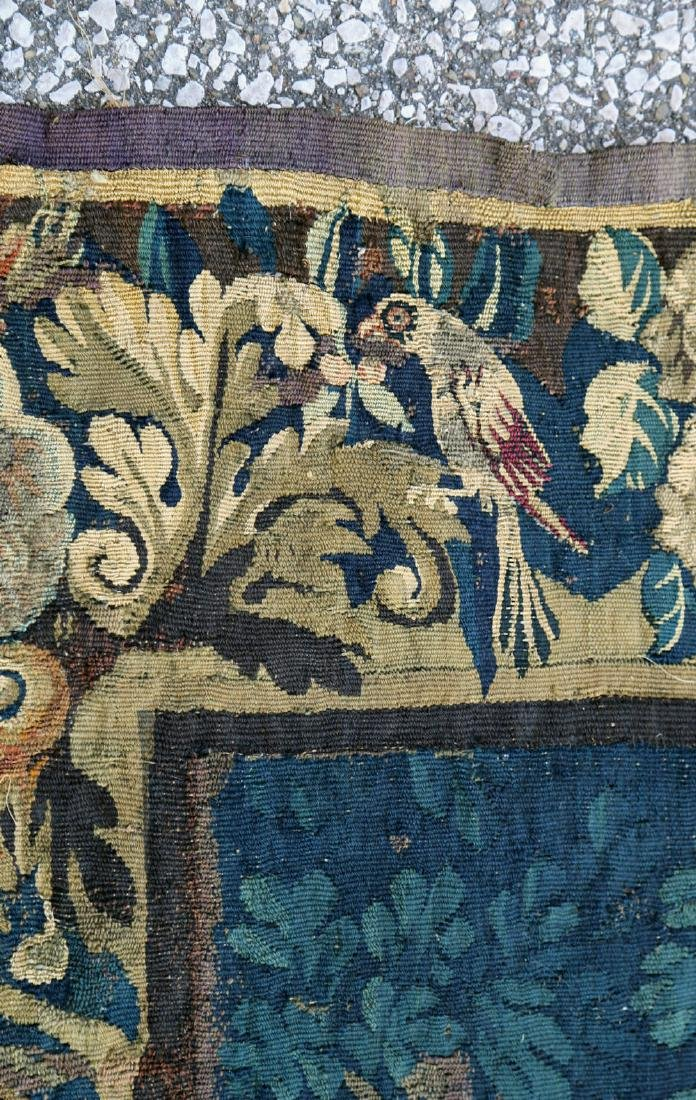 A Flemish Verdure Tapestry, 17thc. - 6