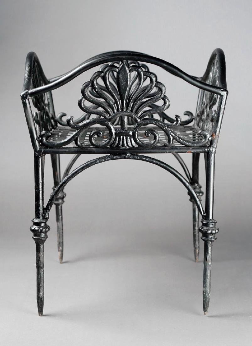 An Empire Cast Iron Plant Stand, 19thc.
