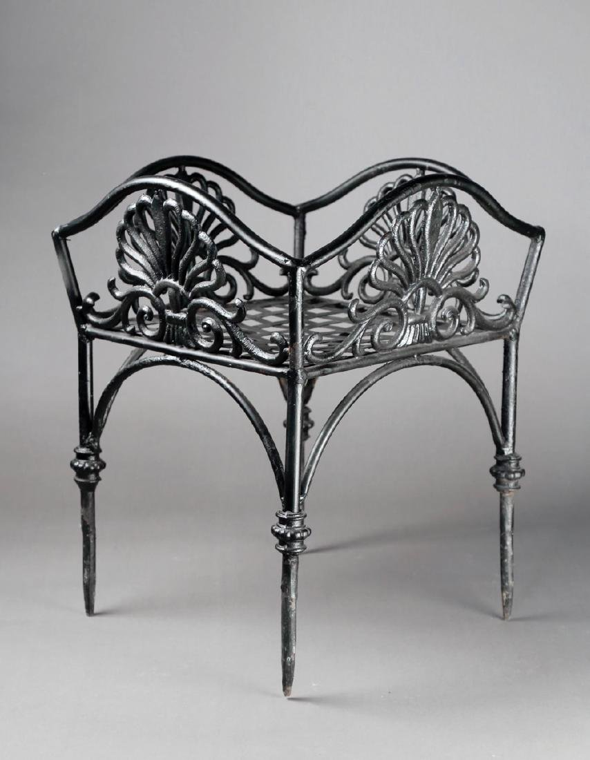 An Empire Cast Iron Plant Stand, 19thc. - 2