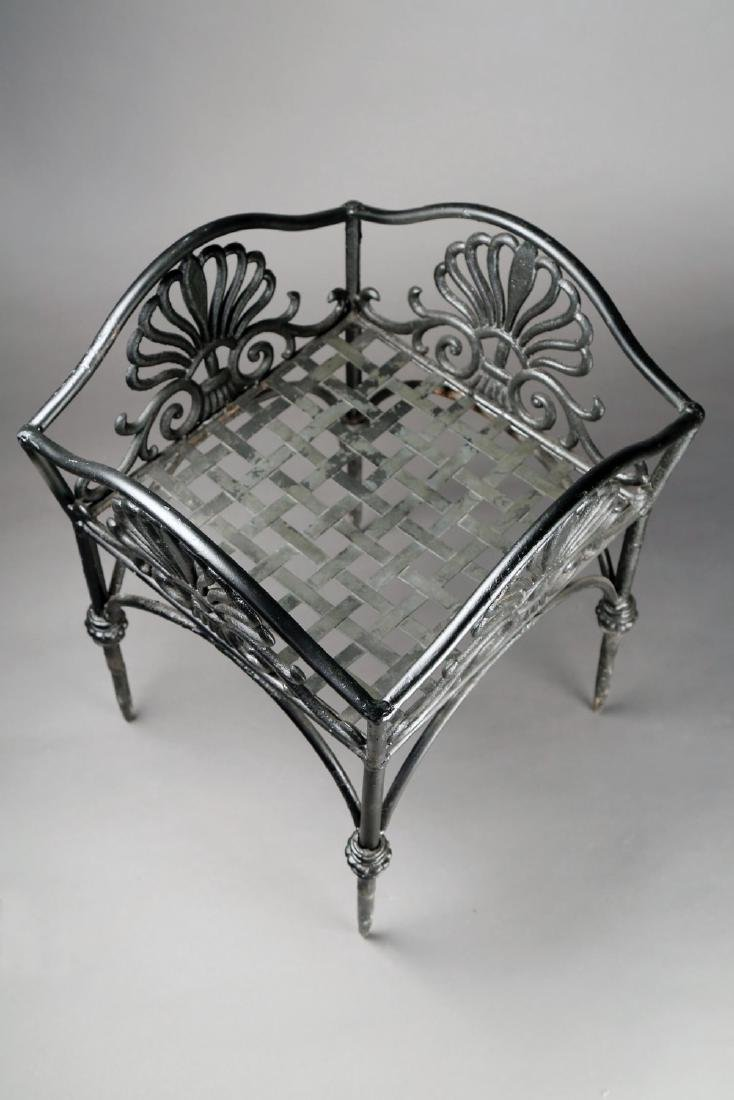 An Empire Cast Iron Plant Stand, 19thc. - 3