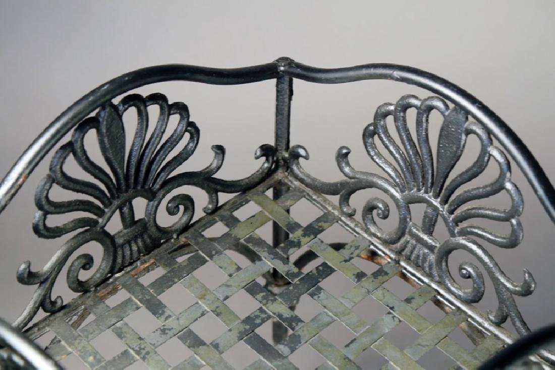 An Empire Cast Iron Plant Stand, 19thc. - 6