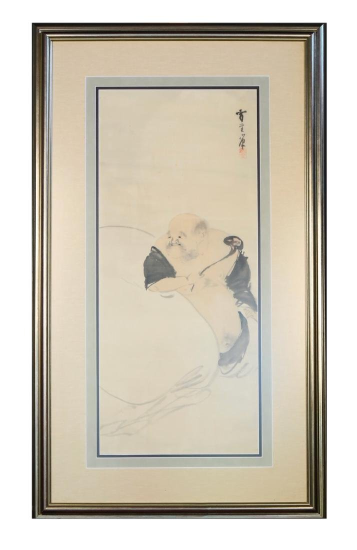Chinese School, Hanging Scroll Painting, Immortal