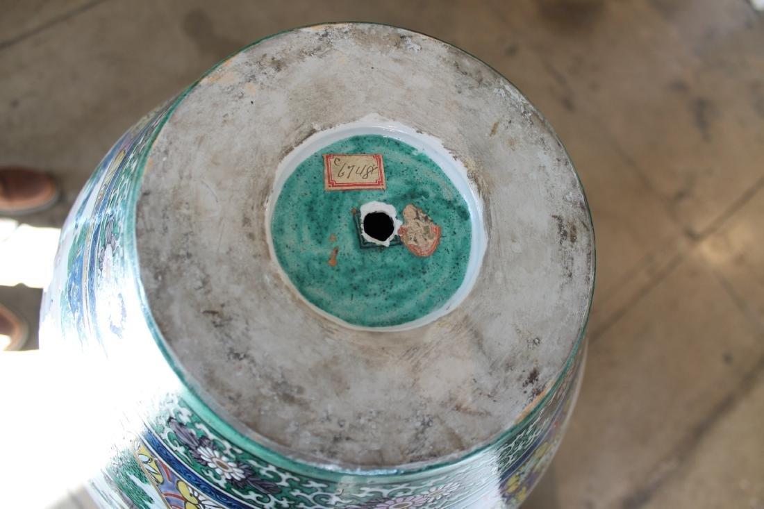 Large Chinese Porcelain Vase - 6