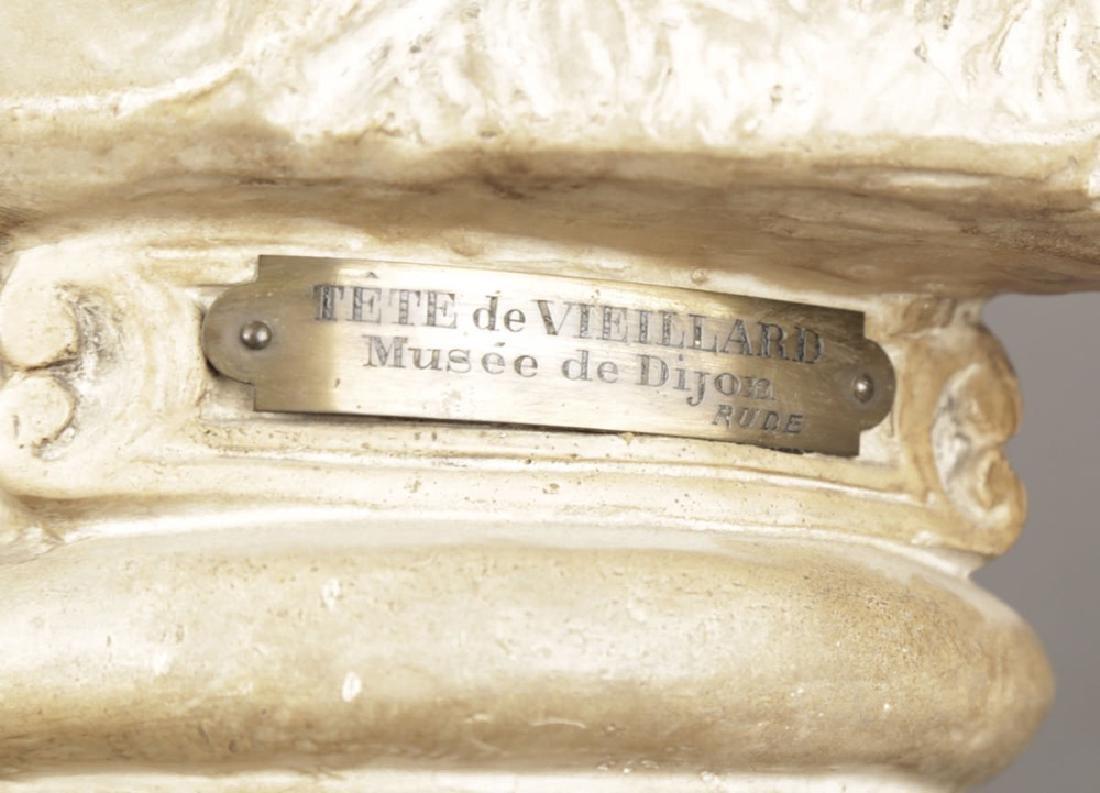 After Francois Rude - Tete de Veillard - 7