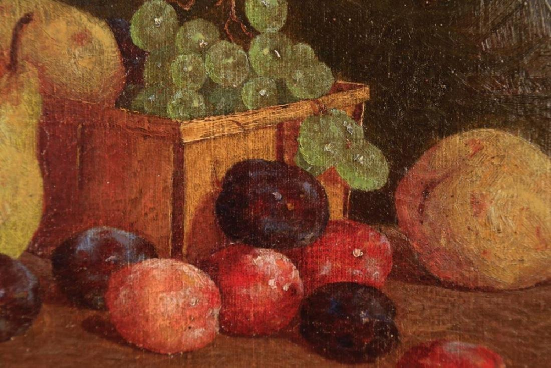 19thc. American School, Still Life with Fruit, ca 1890 - 3