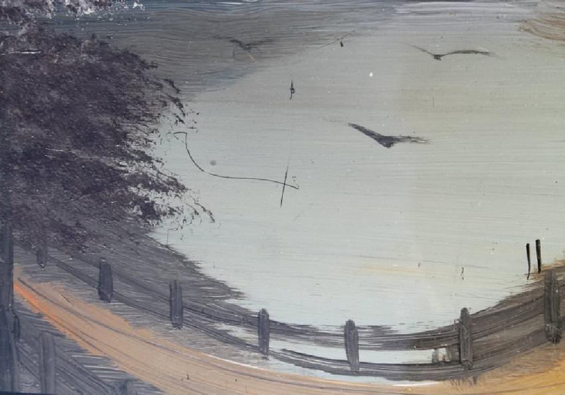 19thc. American School, Road by a Pond - 4