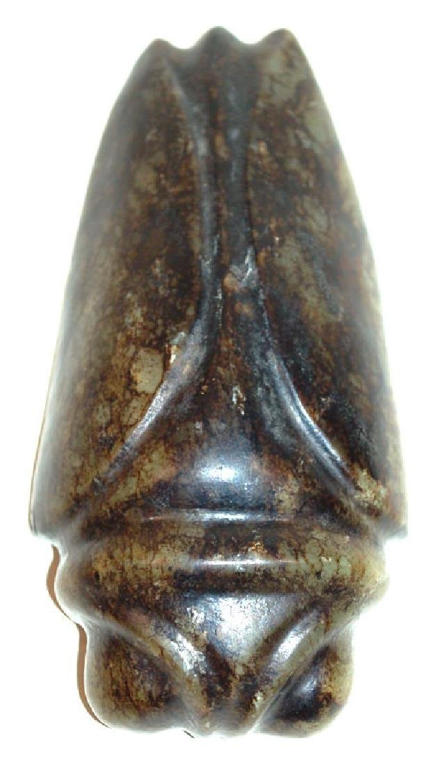 A Chinese Jade Scarab form Paperweight, Song Dynasty