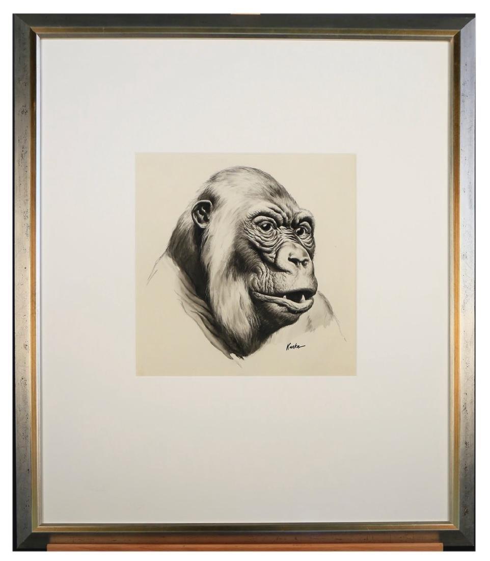 Kiska (American 20thc.)  Gorilla