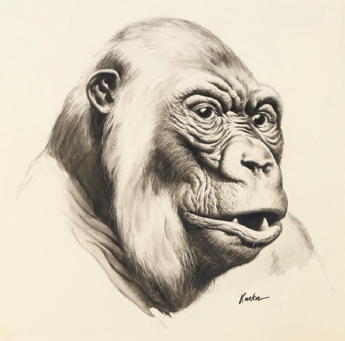 Kiska (American 20thc.)  Gorilla - 2