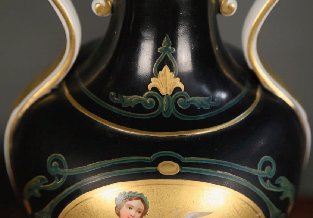 Pair of Vienna Porcelain Vases, c.1900 - 6