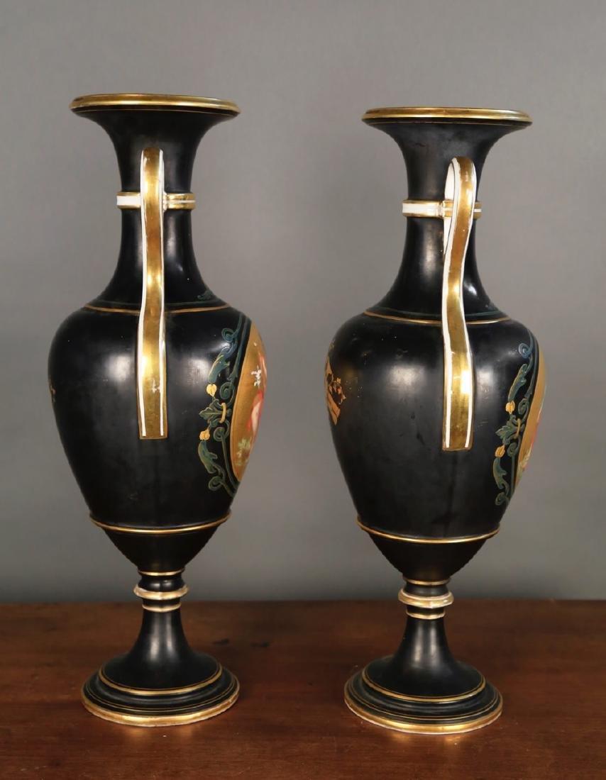 Pair of Vienna Porcelain Vases, c.1900 - 9