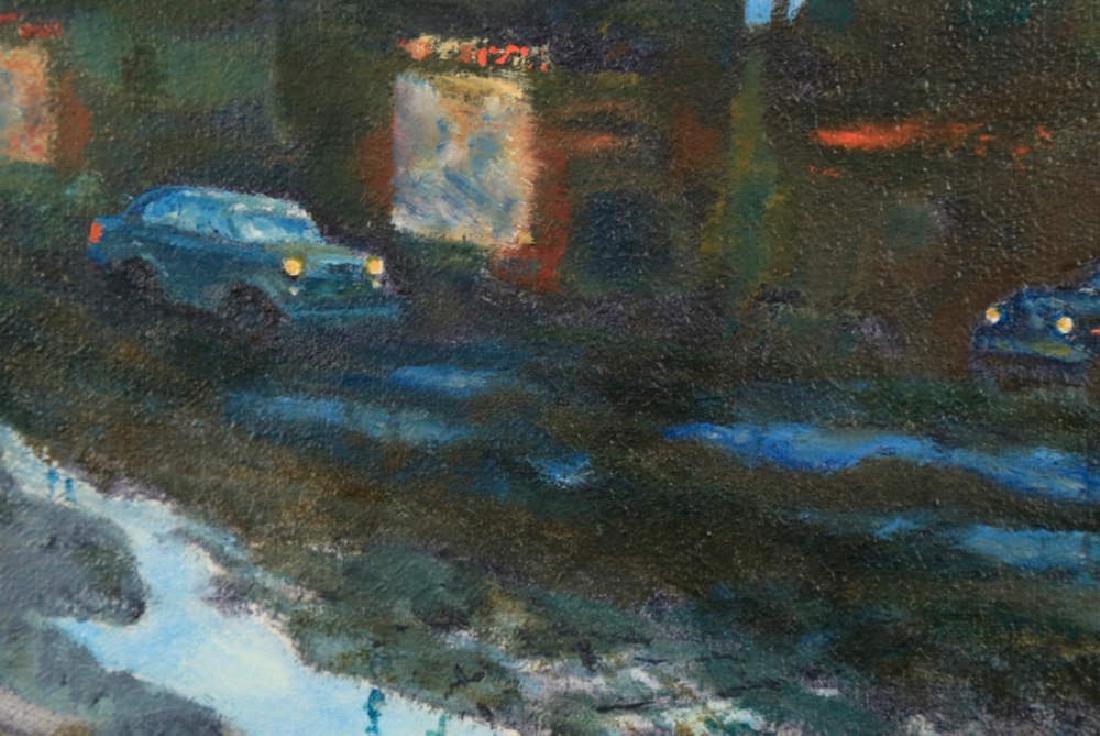 William A. Van Duzer (American 1917 - 2005) Parking Lot - 4