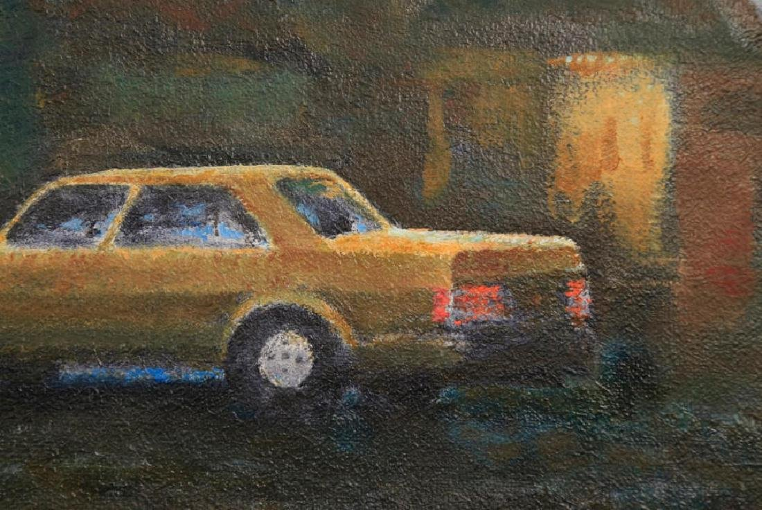 William A. Van Duzer (American 1917 - 2005) Parking Lot - 5