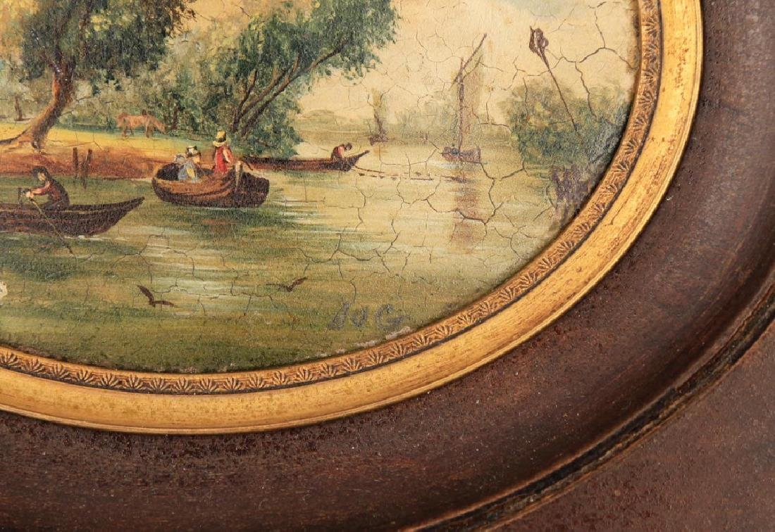 A Pair of Miniature English or Continental Paintings - 9