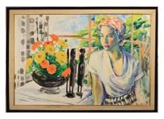 Delores Van Duzer, Portrait of a Woman