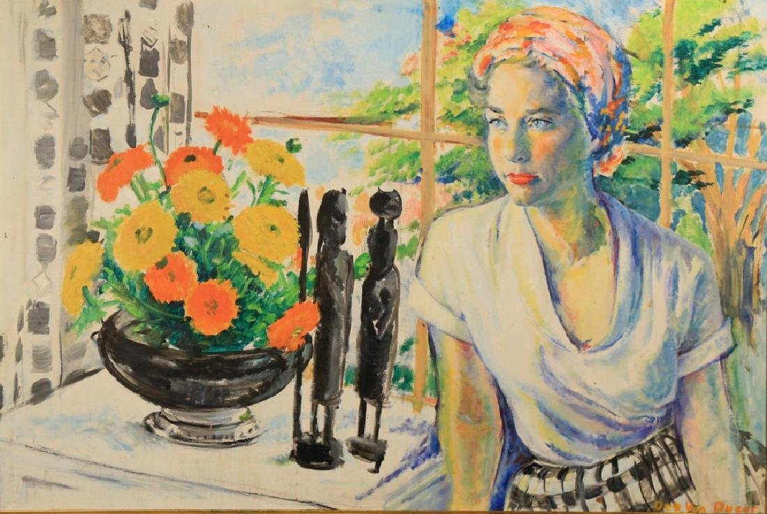 Delores Van Duzer,  Portrait of a Woman - 2