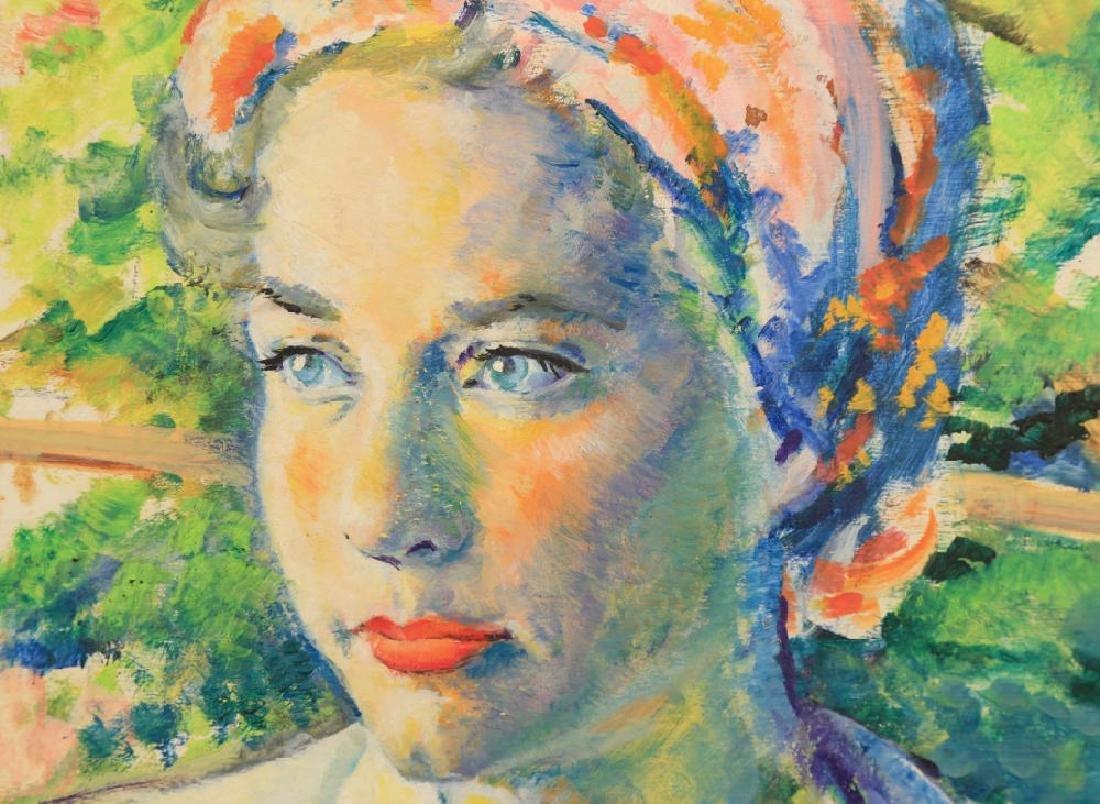 Delores Van Duzer,  Portrait of a Woman - 3