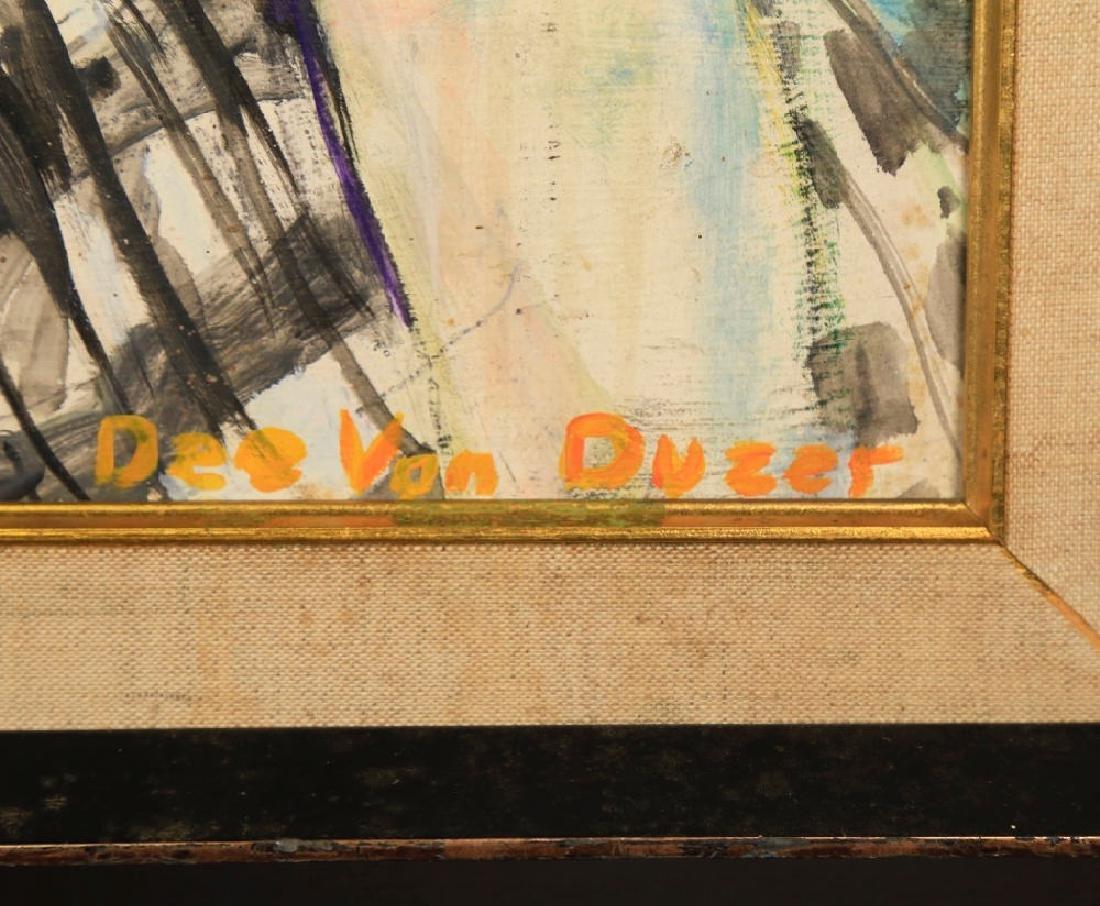 Delores Van Duzer,  Portrait of a Woman - 4