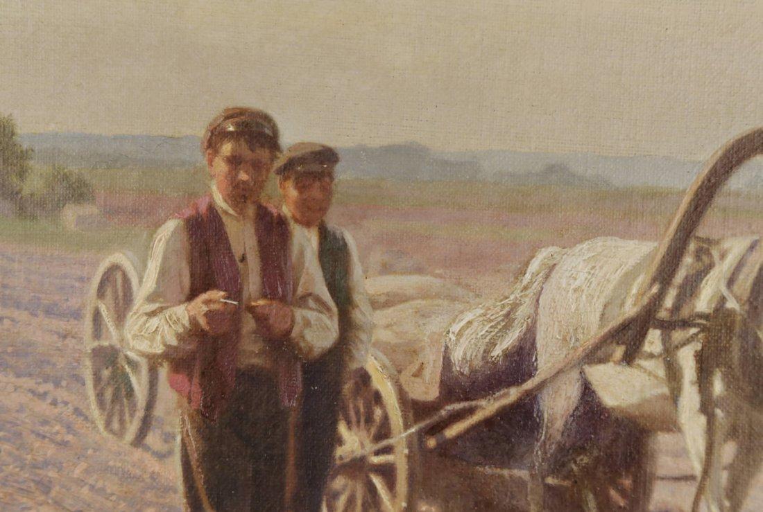 Jan Grubinski (Polish, 1874–1945) In the Fields - 3