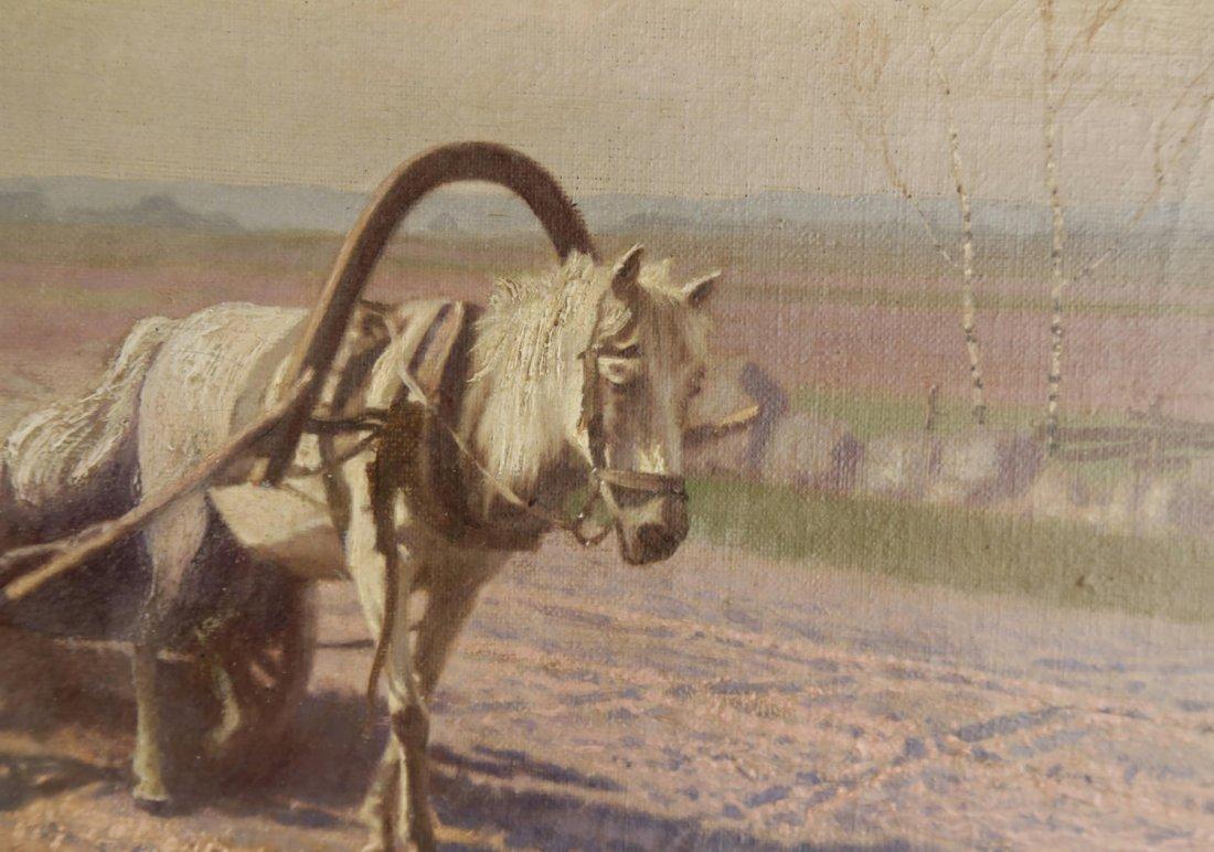Jan Grubinski (Polish, 1874–1945) In the Fields - 4