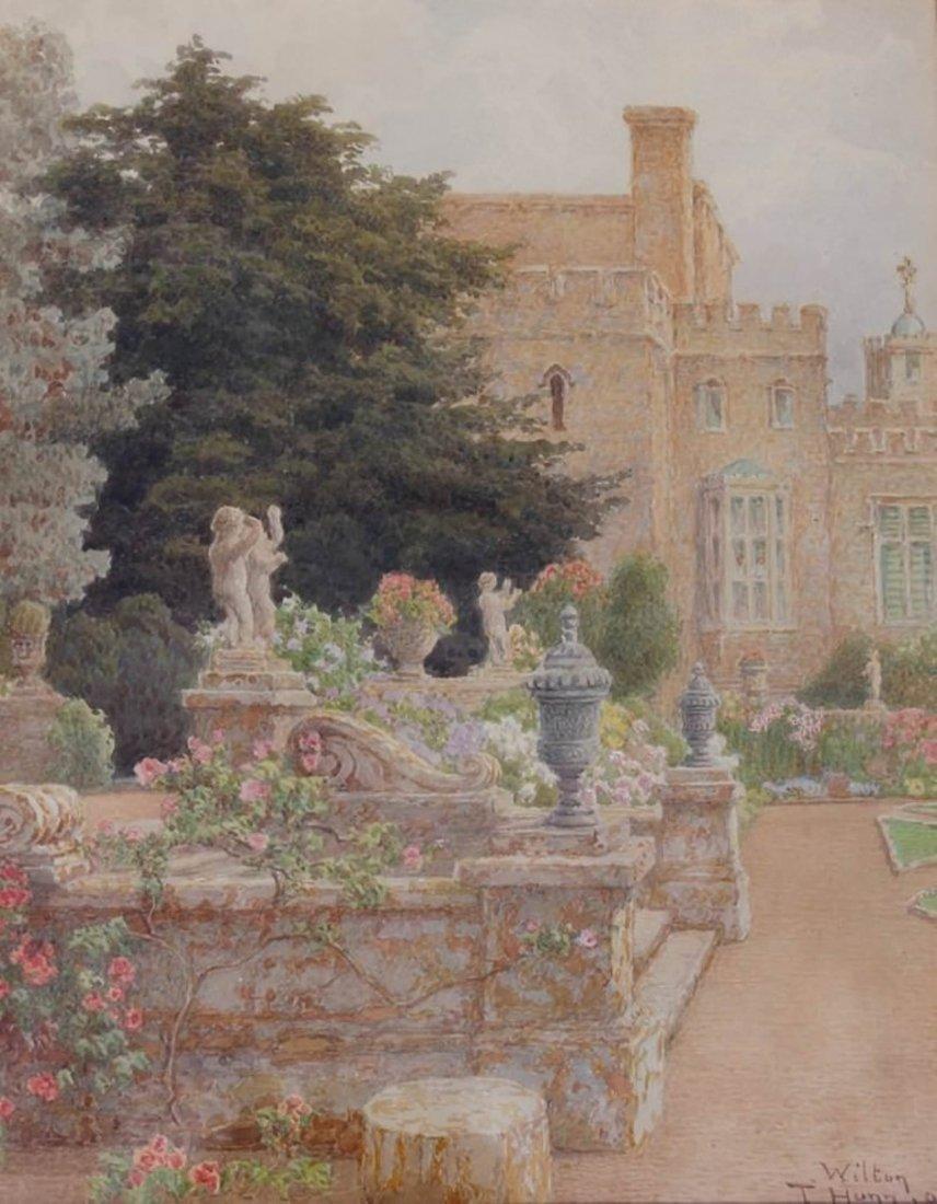 Thomas Henry Hunn - Wilton, Garden Steps