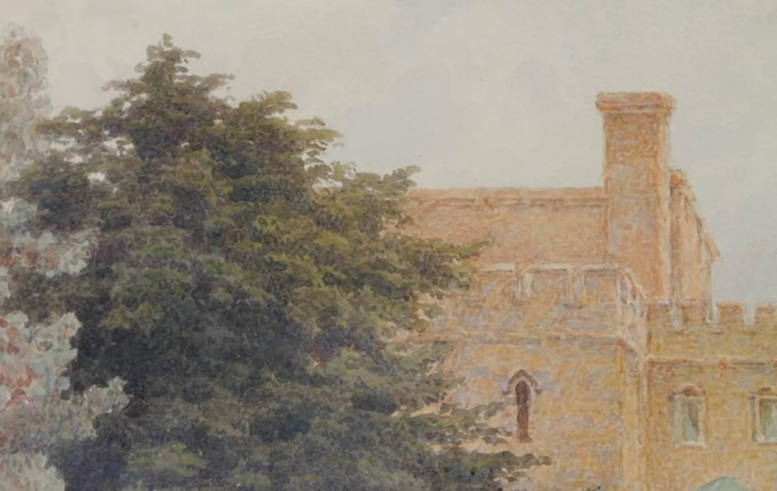 Thomas Henry Hunn - Wilton, Garden Steps - 3