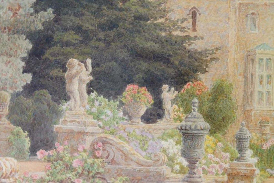 Thomas Henry Hunn - Wilton, Garden Steps - 4