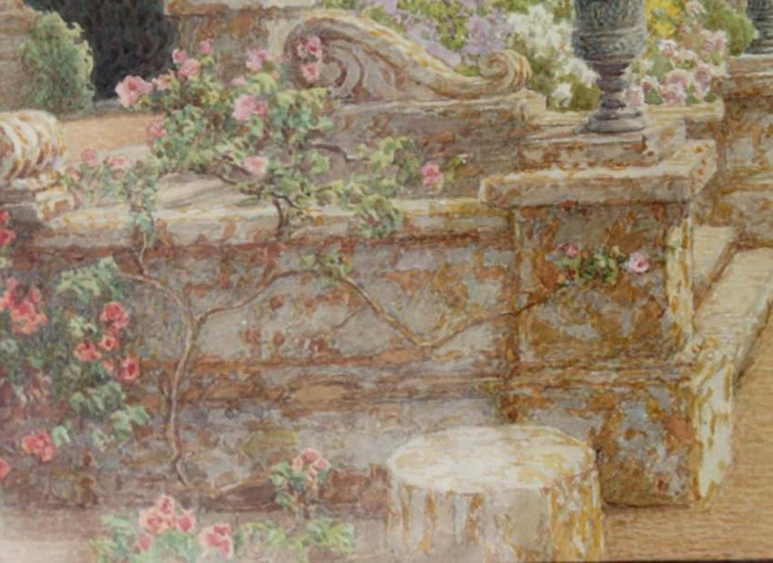 Thomas Henry Hunn - Wilton, Garden Steps - 6