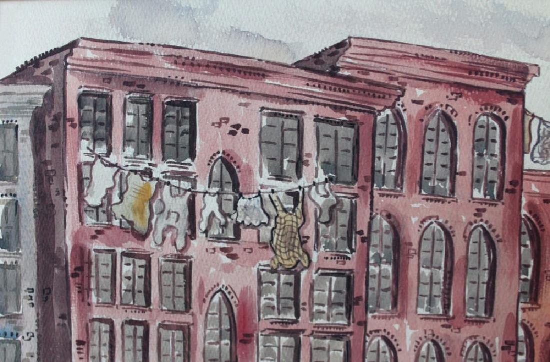 Milford Goldfarb - Busy New York Street Scene, 1943 - 3