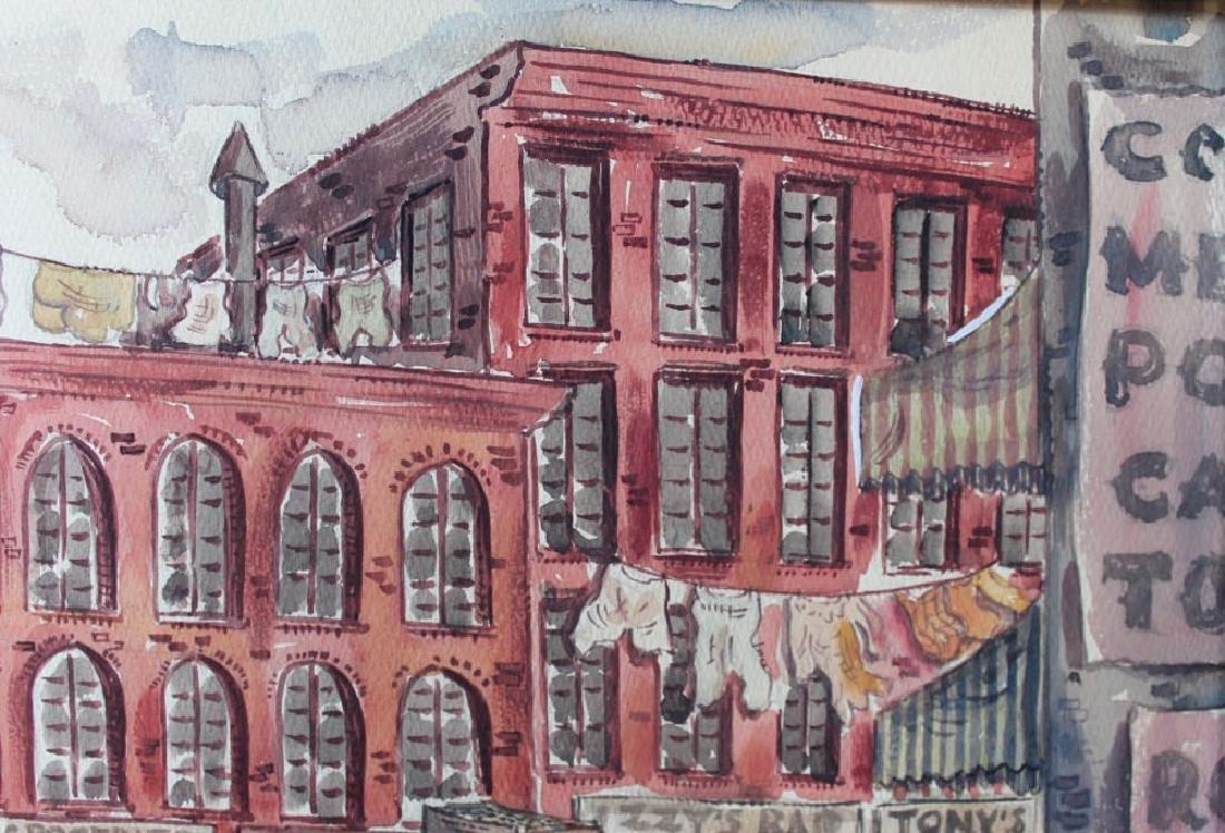 Milford Goldfarb - Busy New York Street Scene, 1943 - 4
