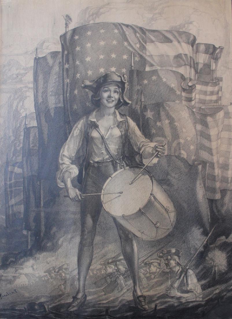 Lambert (American, 20thc.) Spirit of 1776