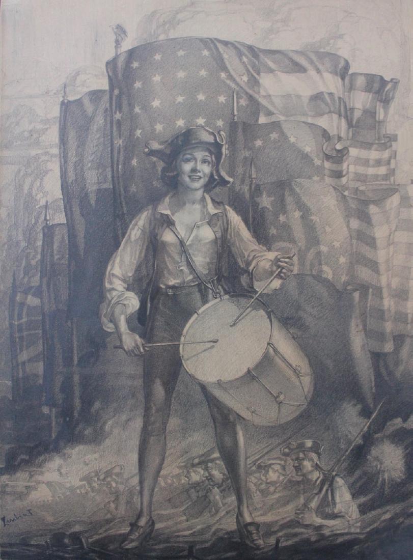 Lambert (American, 20thc.) Spirit of 1776 - 3