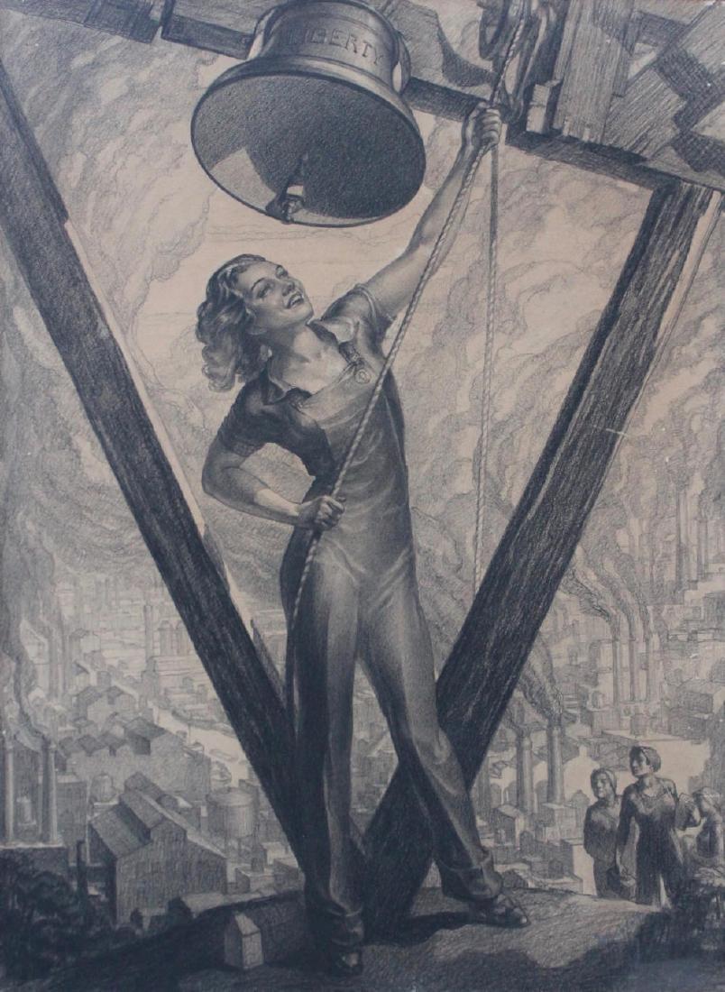 Lambert - American Workers, Liberty Bell, Industrial