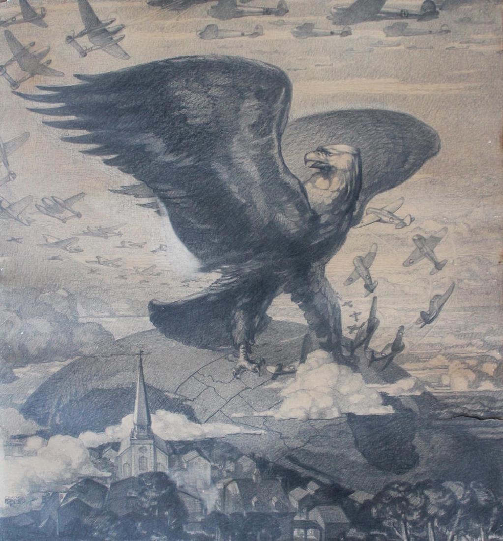 George Colby - World War II, Eagle and B52's