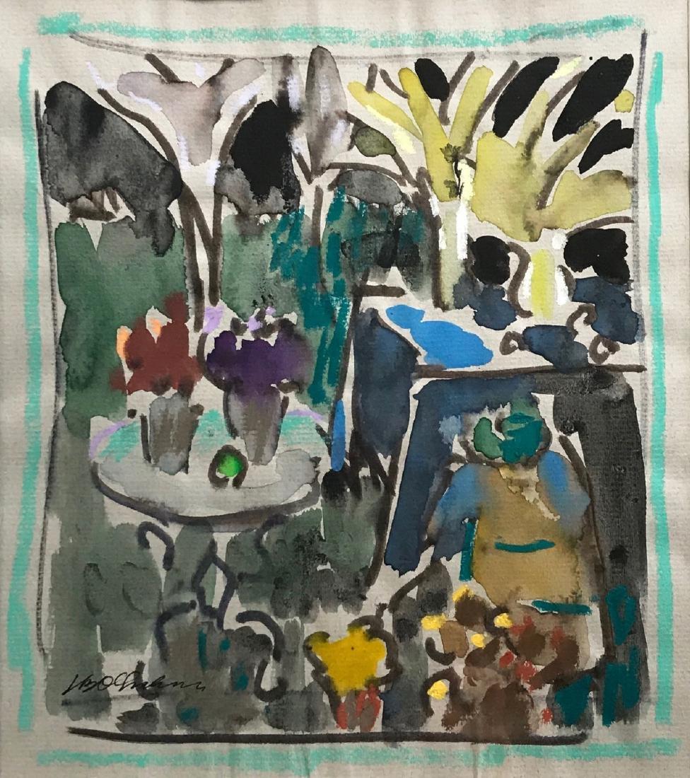 Joseph Benjamin O'Sickey (American, 1918-2013) Garden