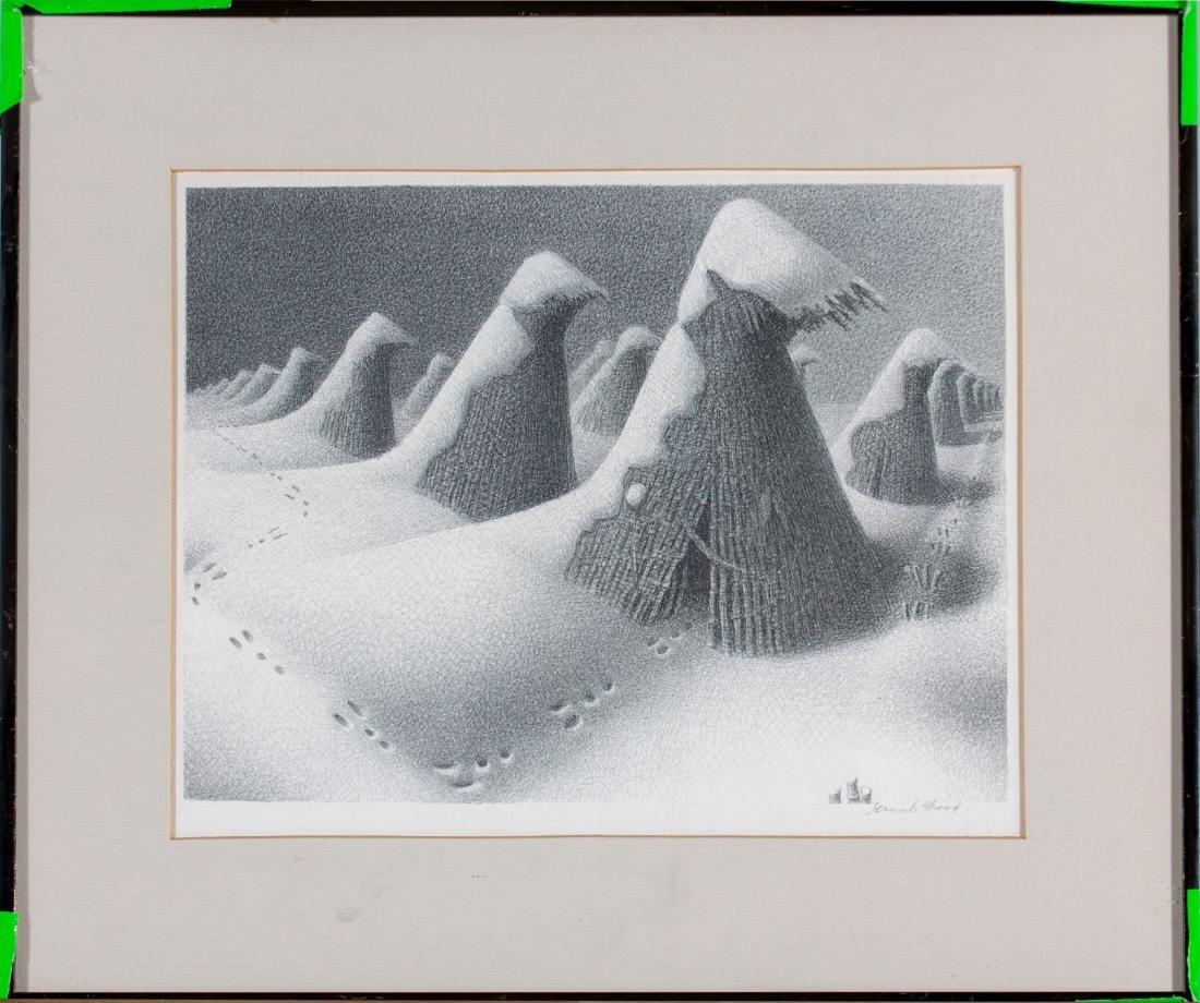 Grant Wood (American 1891-1942) January, 1938 - 2