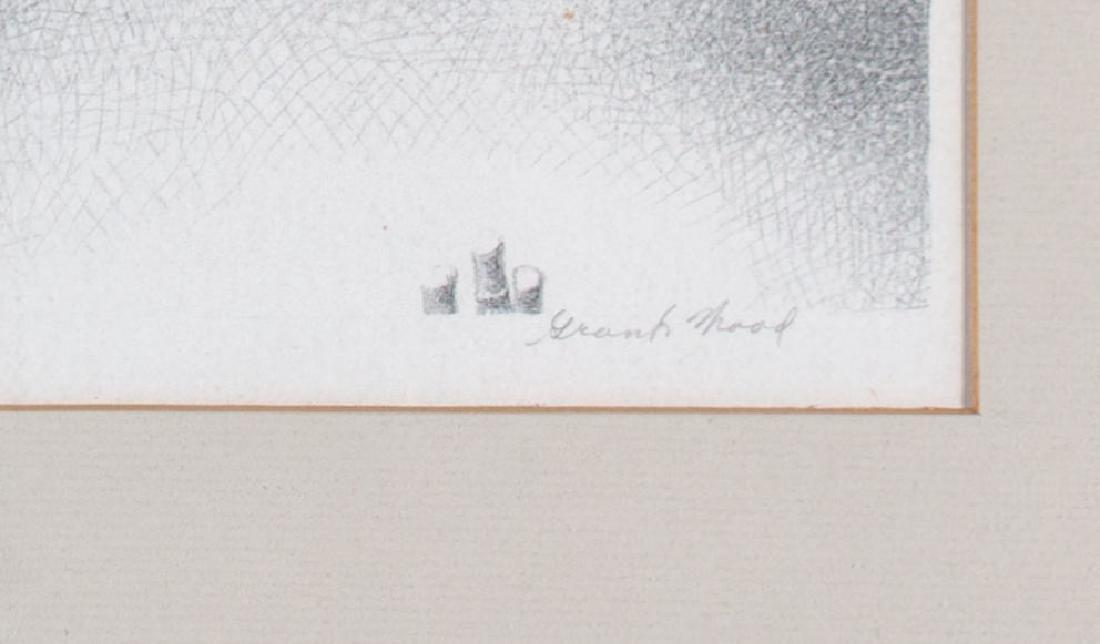 Grant Wood (American 1891-1942) January, 1938 - 3