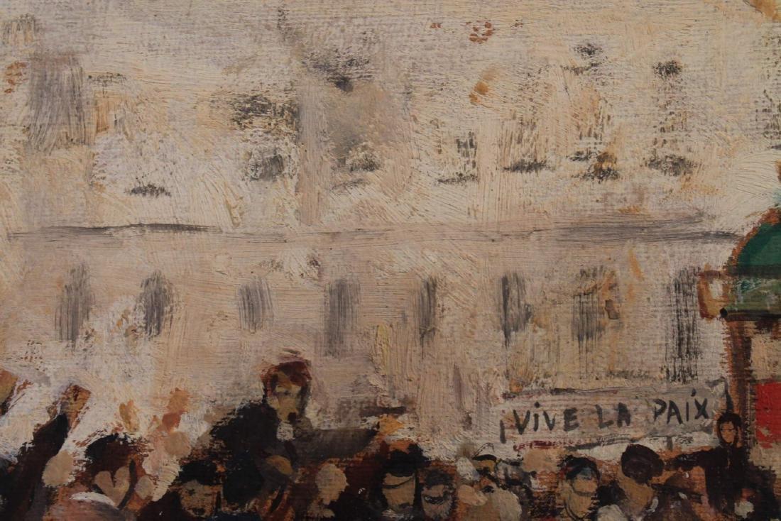 Vive La Paix, 20th Century French School, 1928 - 3