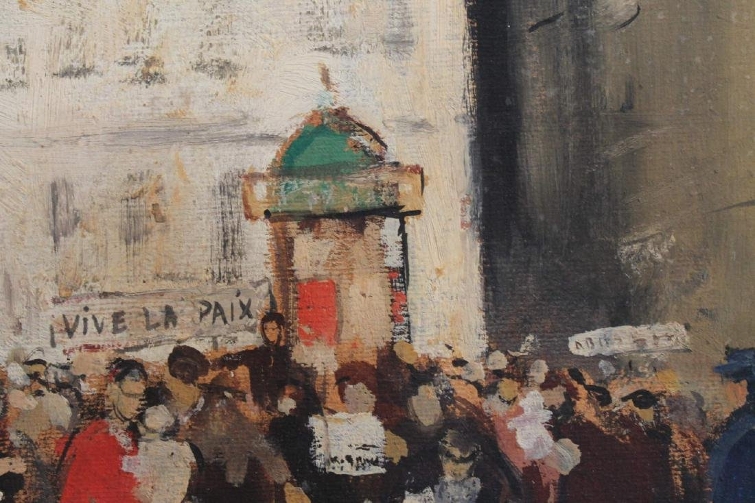Vive La Paix, 20th Century French School, 1928 - 4
