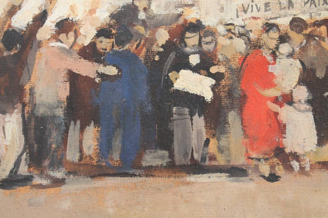 Vive La Paix, 20th Century French School, 1928 - 5