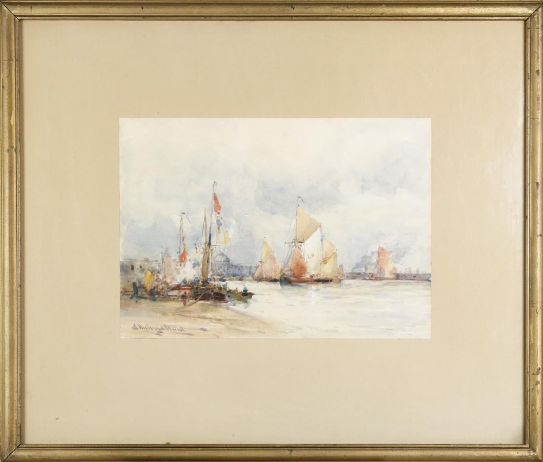 Venice from the Harbor, 19thc. British School