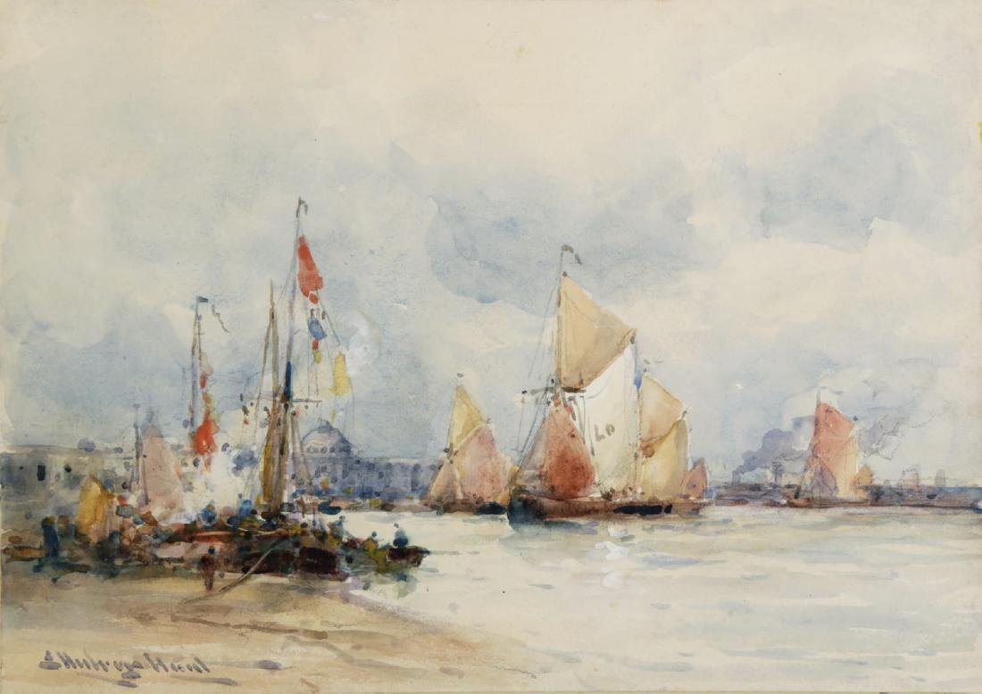 Venice from the Harbor, 19thc. British School - 2