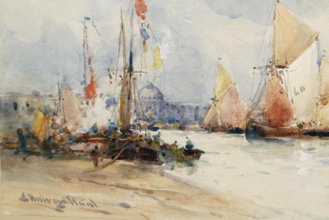 Venice from the Harbor, 19thc. British School - 4