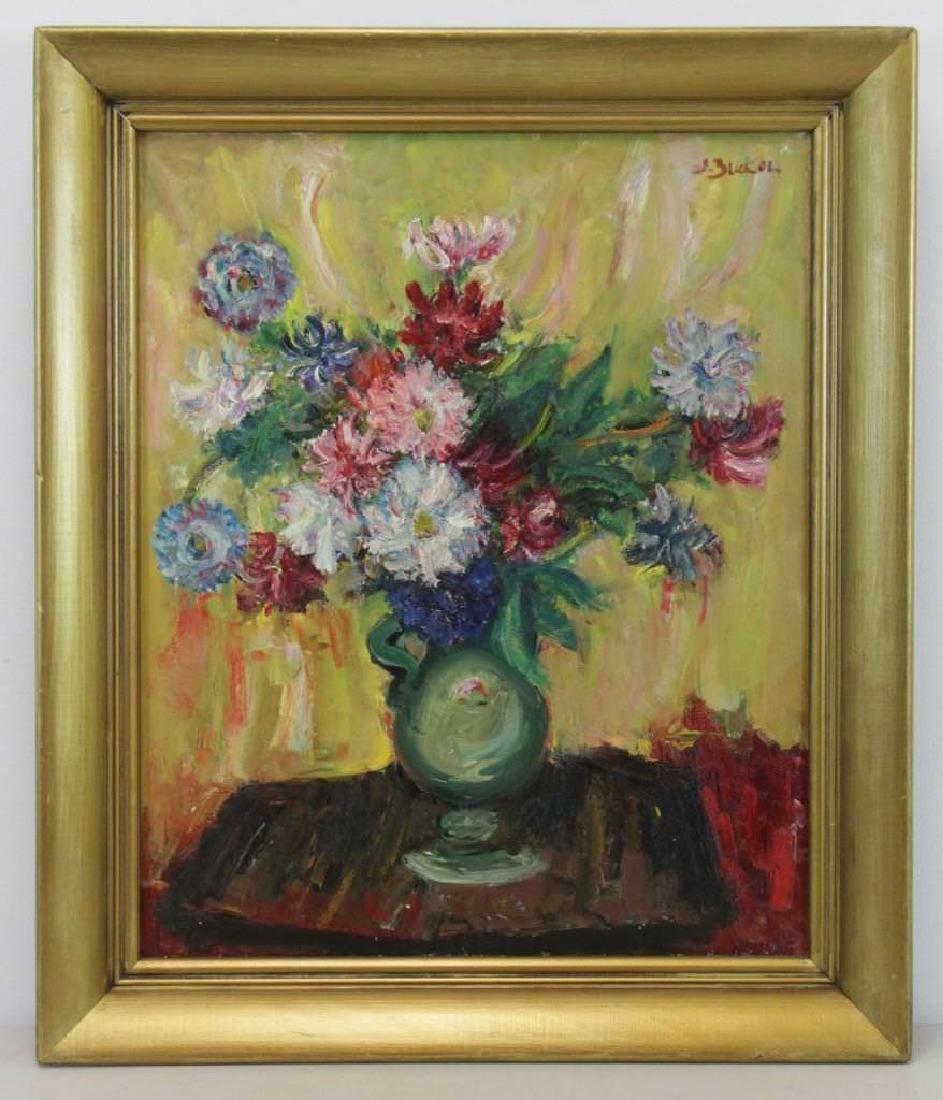 Jacques Zucker (American, 1900-1981) Floral Still Life